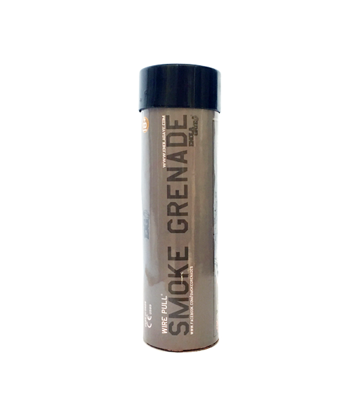 Wire Pull Smoke Grenade Black