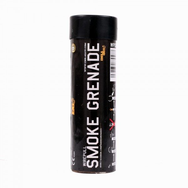 Wire Pull Smoke Grenade White